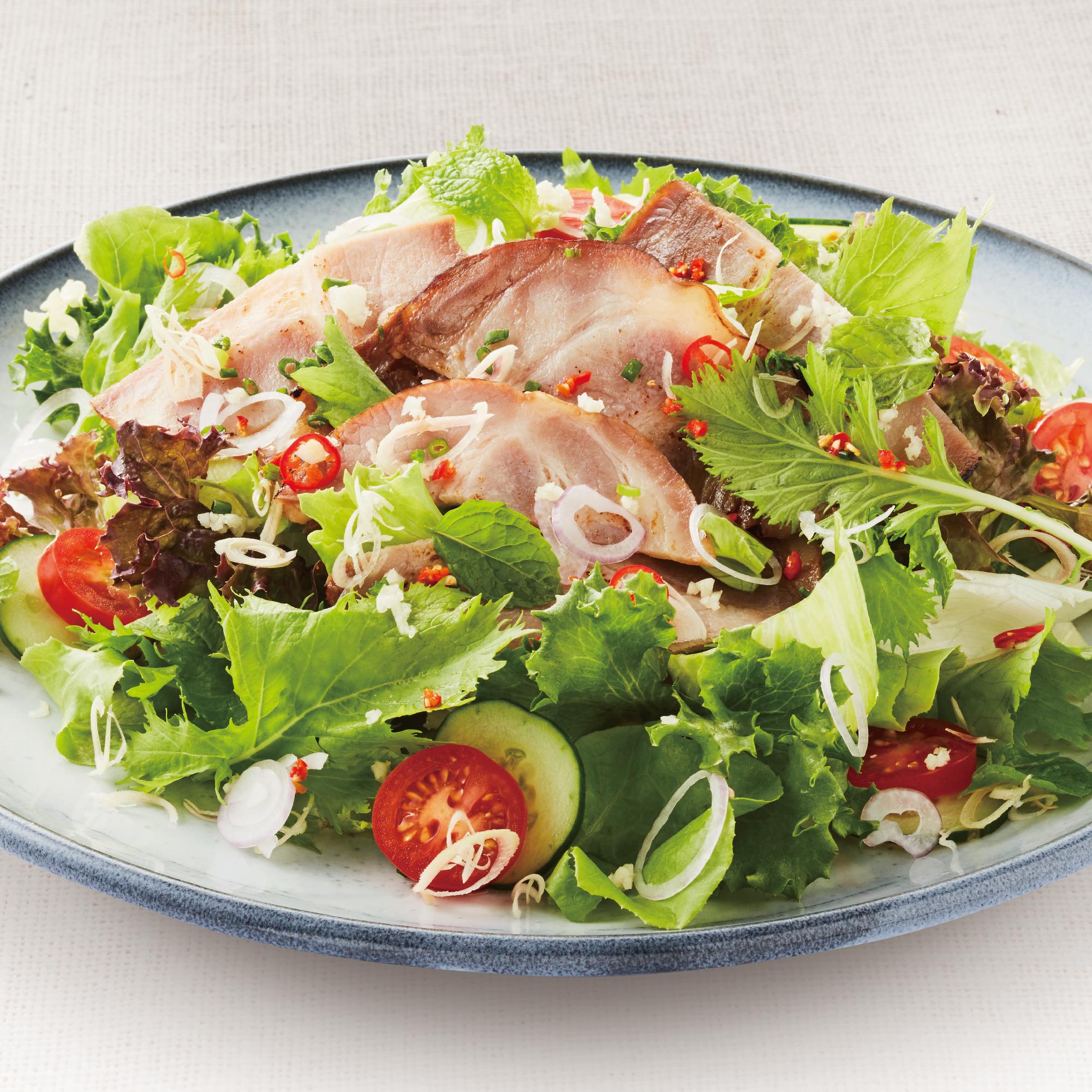 Spicy Yakibuta Salad