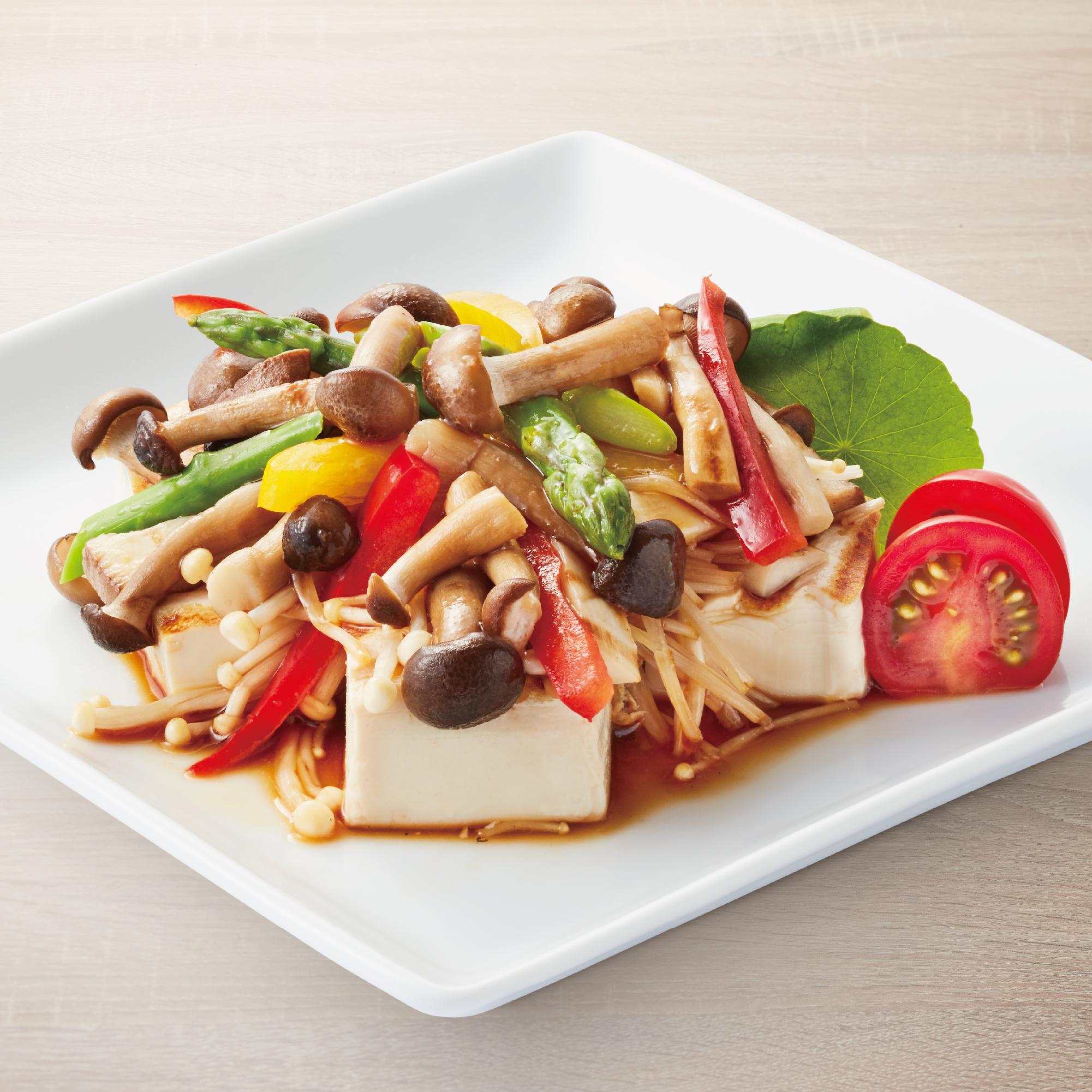 Tofu Kinoko Itame
