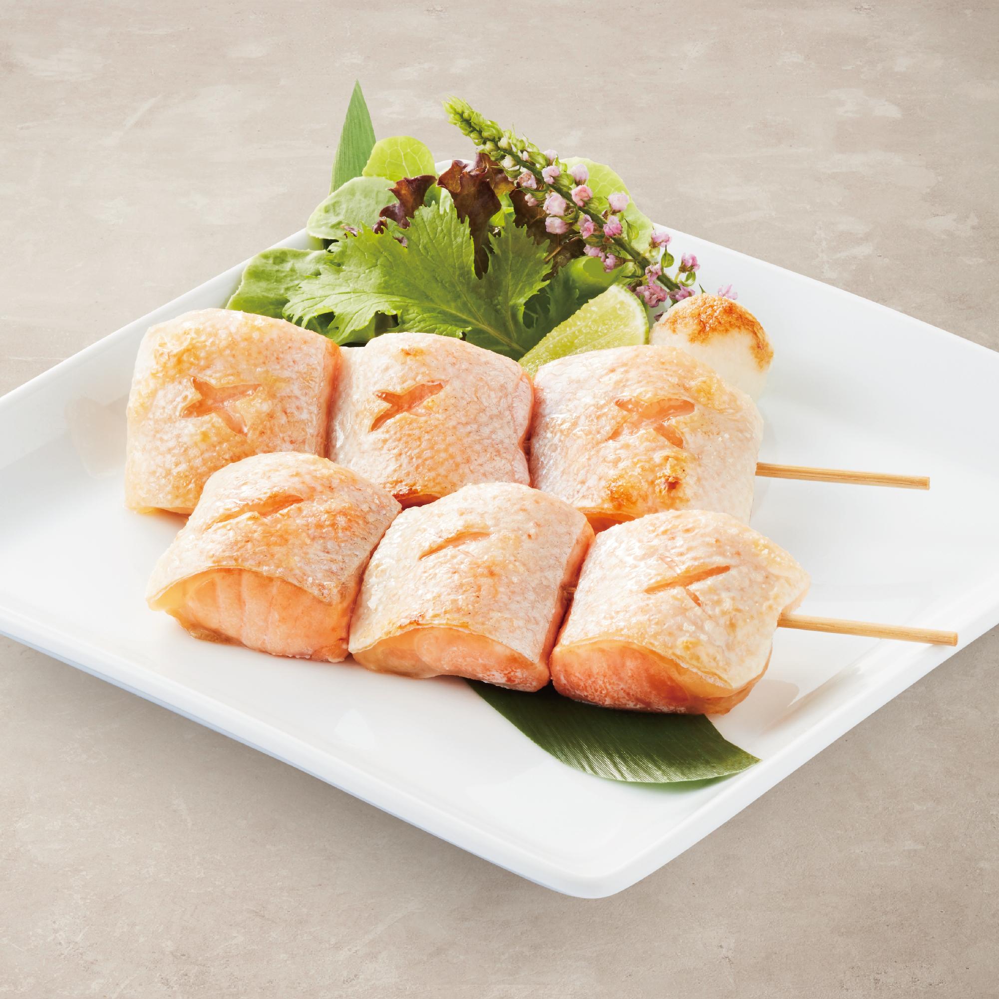 Salmon Toro Kushiyaki