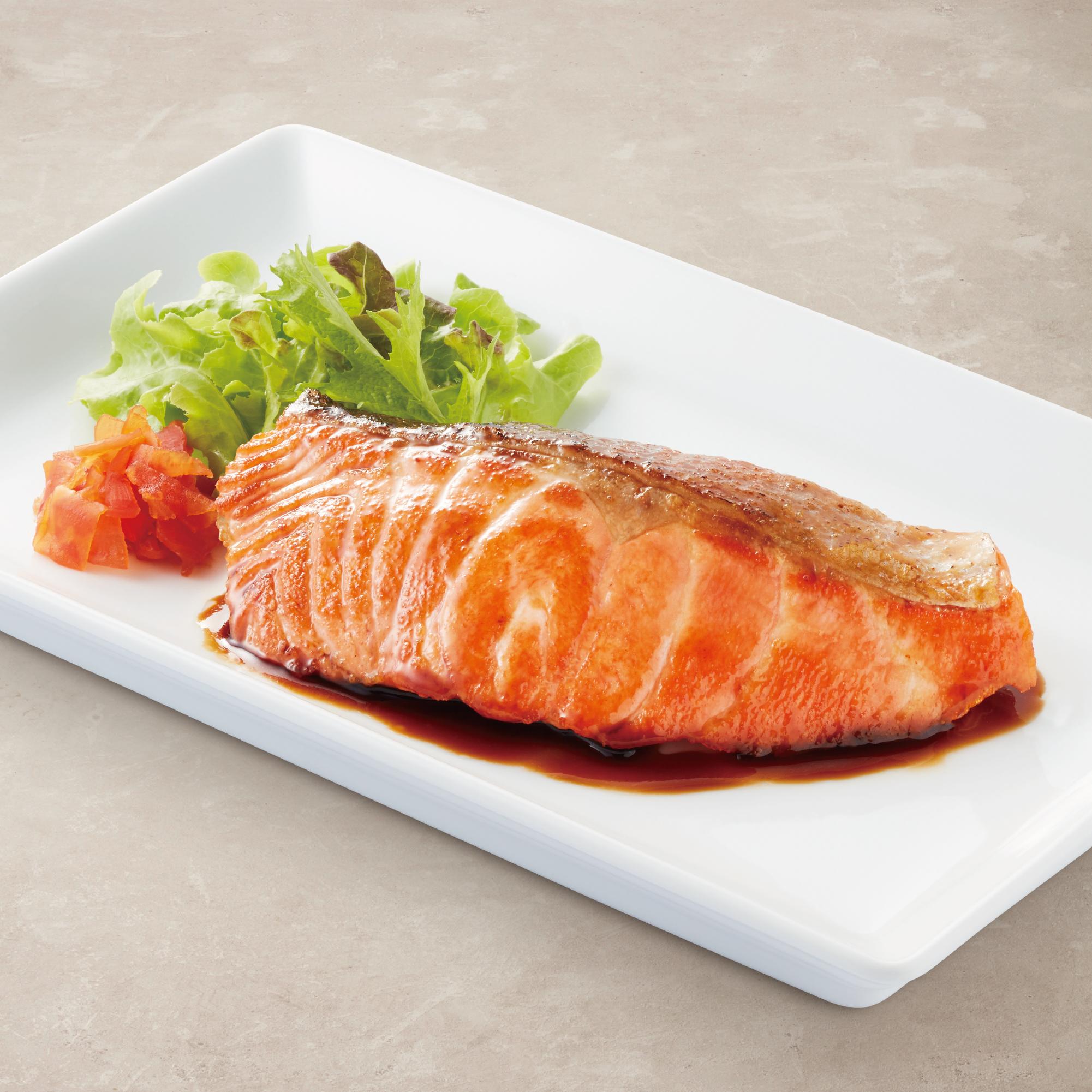 Salmon (Teriyaki / Shioyaki)