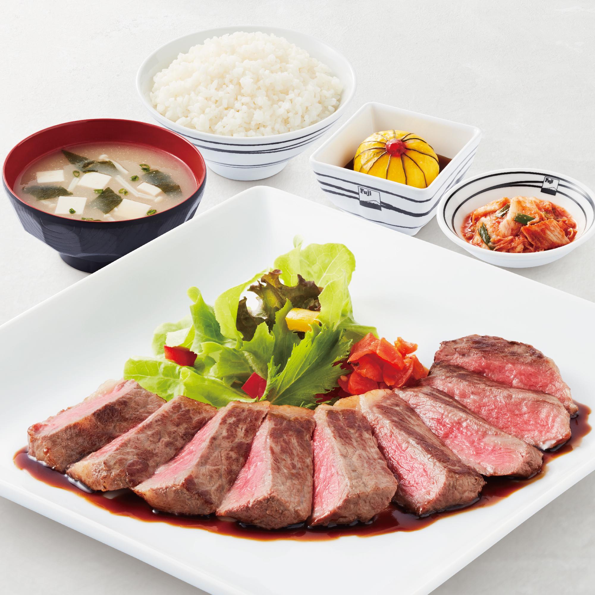 Beef Teriyaki Set (Imported Beef)
