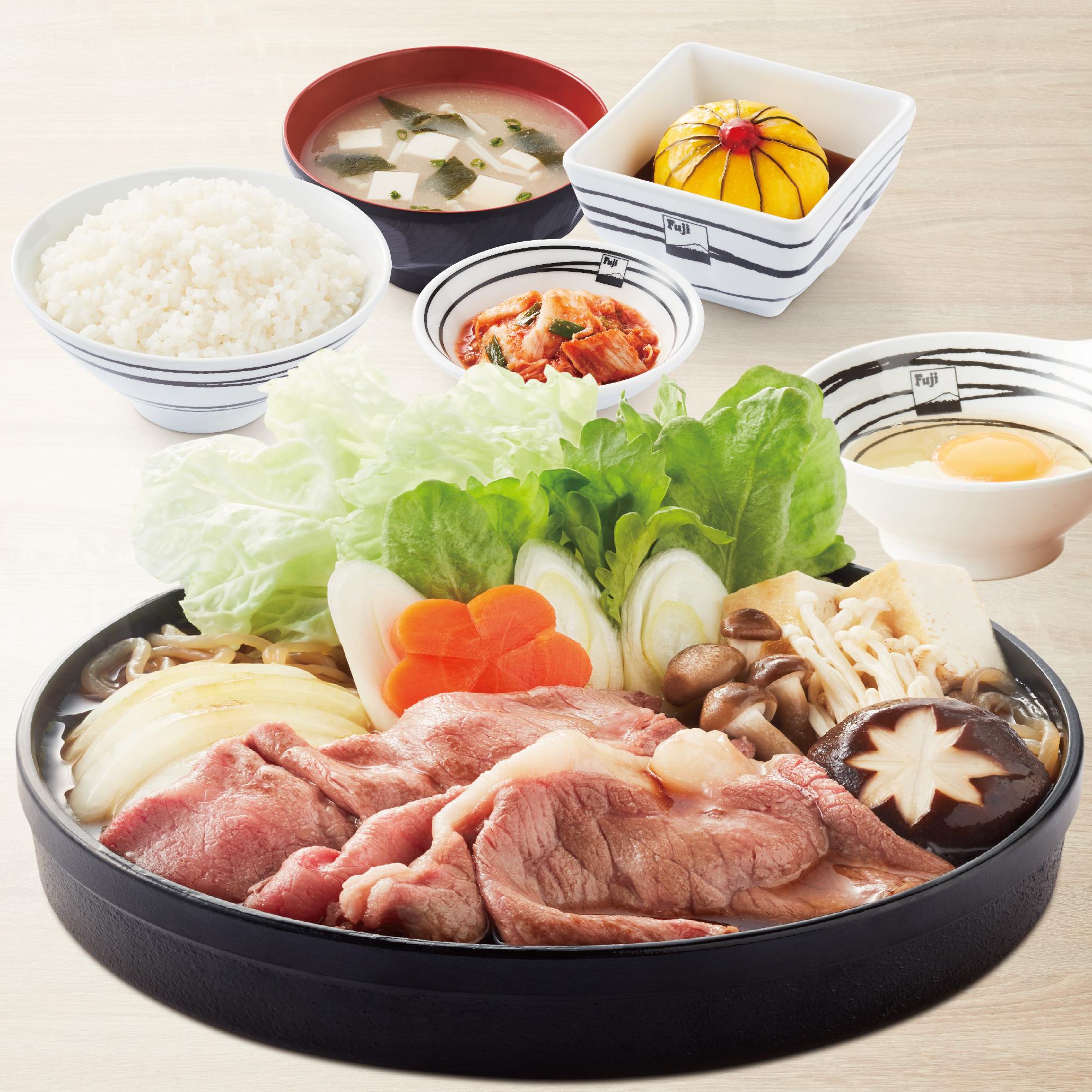 Sukiyaki Set (Imported Beef / Pork / Chicken)