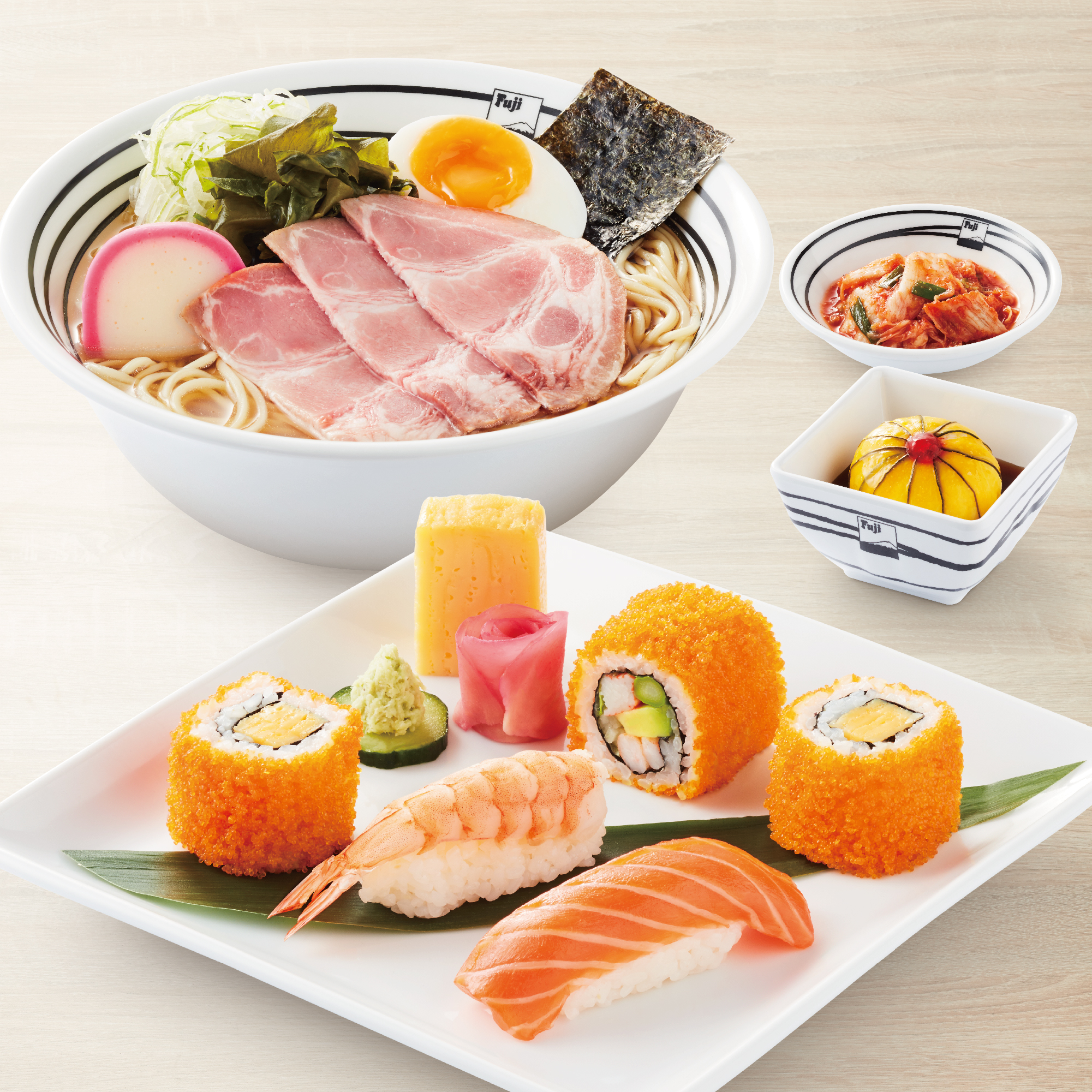 Ramen & Sushi Set