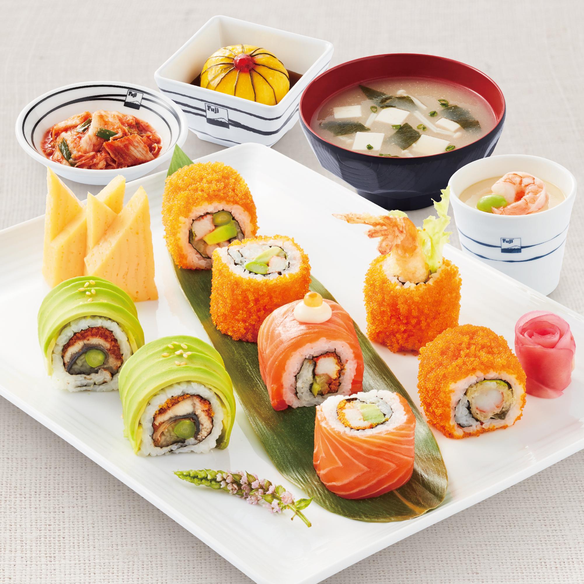 Roll Sushi Set