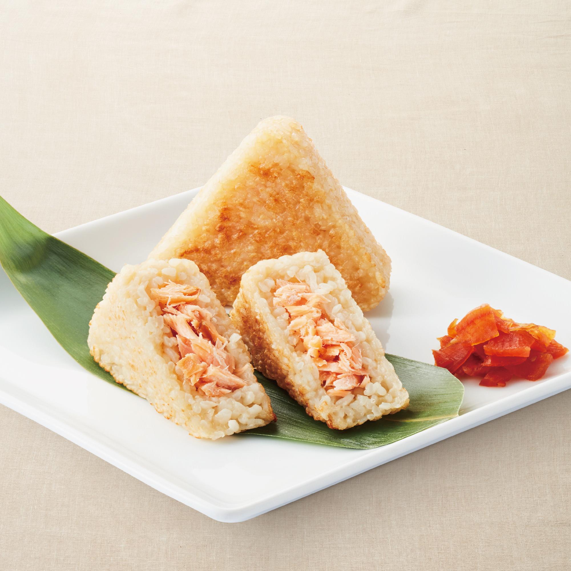 Yaki Salmon Onigiri (1 pc)